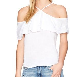 Michael Stars Cold Shoulder Top